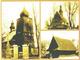 Przyszowice -dawne zabytki architektury drewnianej. Kościół p.w. św. Mikołaja z 1964 roku przeniesiony do Borowej Wsi. Kościół p.w. św. Krzyża z XVI wieku przeniesiony na przełęcz Kubalonka w Istebnej, Spichlerz farski z 1806 roku