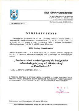 Sieć wodociągowa, ul. Skotnicka P-ki.jpeg