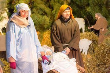 Maria Dzieciątko Jezus I Józef