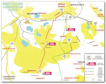 Ścieżki rowerowe po Gminie Gierałtowice i okolicach