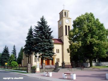 Przyszowice Kościół p.w. św. Jana Nepomucena