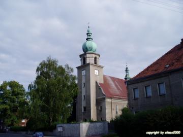 Gierałtowice - Kościół parafialny pod wezwaniem Matki Boskiej Szkaplerznej