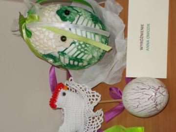Galeria Nagrodzone prace w konkursie Wielkanocnym.